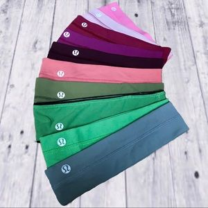 10 LULULEMON HEADBANDS